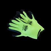 Winter werkhandschoen, XL - fluo groen